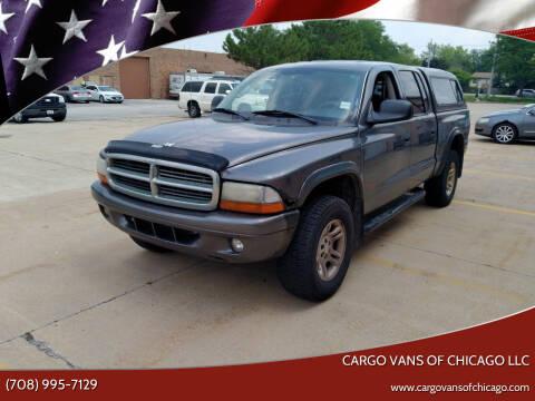 2004 Dodge Dakota for sale at Cargo Vans of Chicago LLC in Mokena IL