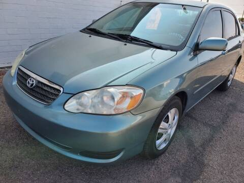 2007 Toyota Corolla for sale at AZ Auto and Equipment Sales in Mesa AZ