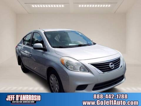 2012 Nissan Versa for sale at Jeff D'Ambrosio Auto Group in Downingtown PA