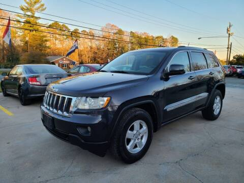 2012 Jeep Grand Cherokee for sale at DADA AUTO INC in Monroe NC