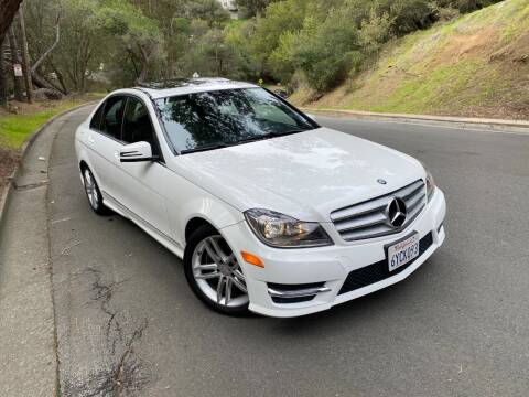 2013 Mercedes-Benz C-Class for sale at CARFORNIA SOLUTIONS in Hayward CA