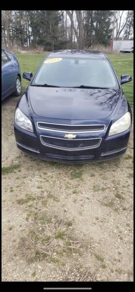 2011 Chevrolet Malibu for sale at Hillside Motor Sales in Coldwater MI