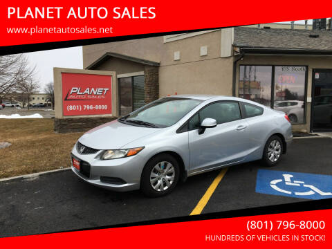 2012 Honda Civic for sale at PLANET AUTO SALES in Lindon UT