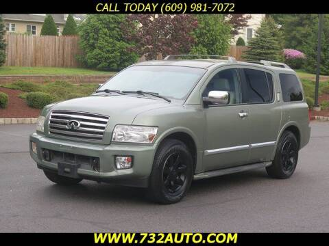 2005 Infiniti QX56 for sale at Absolute Auto Solutions in Hamilton NJ