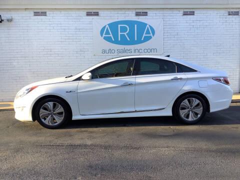 2015 Hyundai Sonata Hybrid for sale at ARIA  AUTO  SALES in Raleigh NC