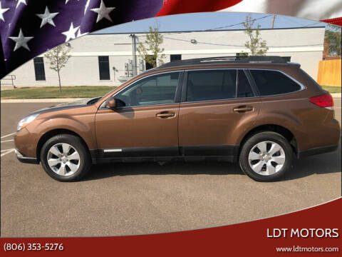 2011 Subaru Outback for sale at LDT MOTORS in Amarillo TX