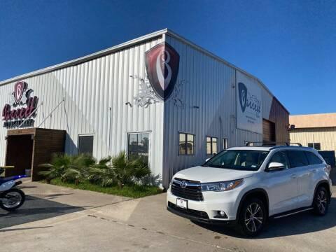 2016 Toyota Highlander for sale at Barrett Auto Gallery in San Juan TX