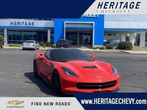 2016 Chevrolet Corvette for sale at HERITAGE CHEVROLET INC in Creek MI