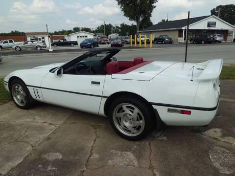 1990 Chevrolet Corvette for sale at Bob Patterson Auto Sales in East Alton IL