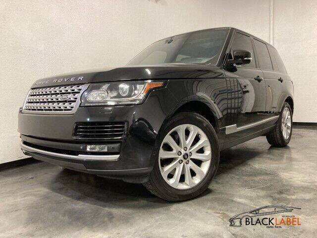 2014 Land Rover Range Rover for sale at BLACK LABEL AUTO FIRM in Riverside CA
