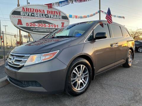 2012 Honda Odyssey for sale at Arizona Drive LLC in Tucson AZ