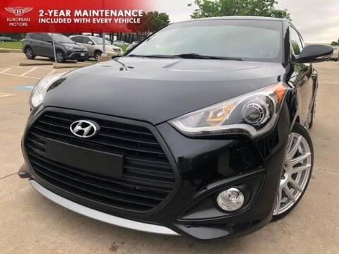 2016 Hyundai Veloster for sale at European Motors Inc in Plano TX