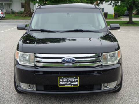2009 Ford Flex for sale at MAIN STREET MOTORS in Norristown PA
