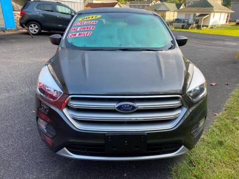 2017 Ford Escape for sale at WHARTON'S AUTO SVC & USED CARS in Wheeling WV