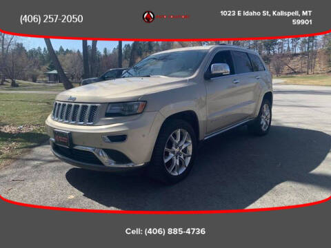 2014 Jeep Grand Cherokee for sale at Auto Solutions in Kalispell MT