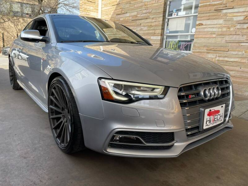 2015 Audi S5 for sale at Hi-Tech Automotive - Congress in Austin TX