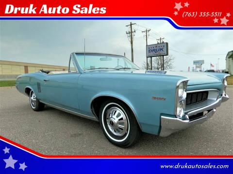 1967 Pontiac Le Mans for sale at Druk Auto Sales in Ramsey MN