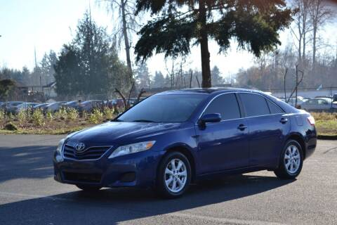 2011 Toyota Camry for sale at Skyline Motors Auto Sales in Tacoma WA