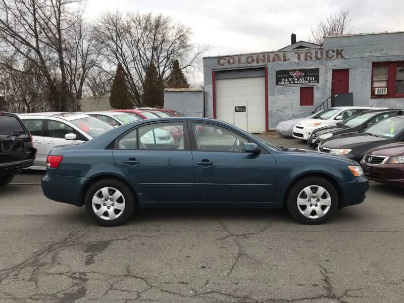 2008 Hyundai Sonata for sale at Dan's Auto Sales and Repair LLC in East Hartford CT