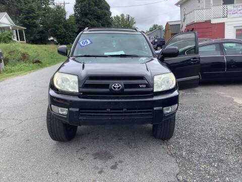 2005 Toyota 4Runner for sale at Moose Motors in Morganton NC