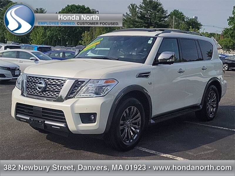 2018 Nissan Armada for sale at 1 North Preowned in Danvers MA