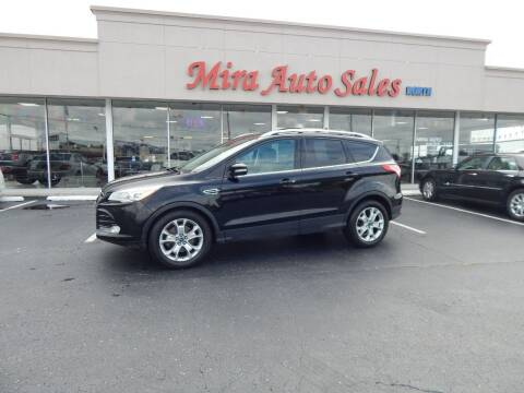 2016 Ford Escape for sale at Mira Auto Sales in Dayton OH
