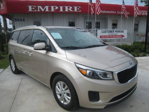 2016 Kia Sedona for sale at Empire Automotive Group Inc. in Orlando FL