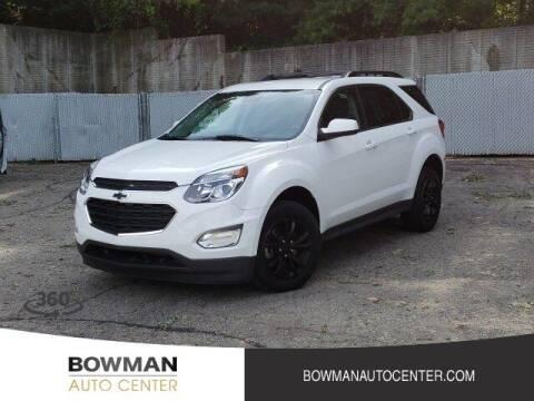 2017 Chevrolet Equinox for sale at Bowman Auto Center in Clarkston MI