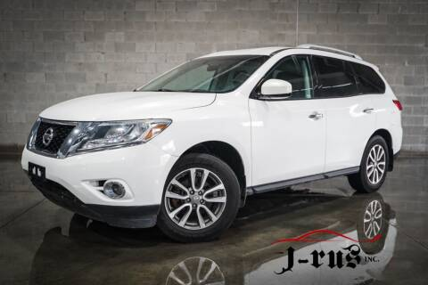 2013 Nissan Pathfinder for sale at J-Rus Inc. in Macomb MI