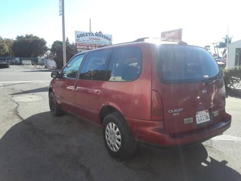 1994 Nissan Quest for sale at Goleta Motors in Goleta CA