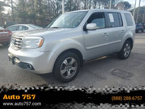 2014 Honda Pilot for sale at Auto 757 in Norfolk VA
