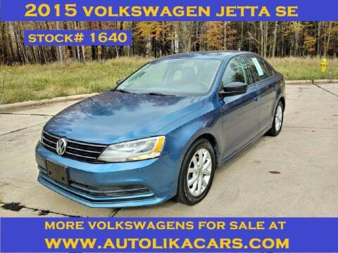 2015 Volkswagen Jetta for sale at Autolika Cars LLC in North Royalton OH