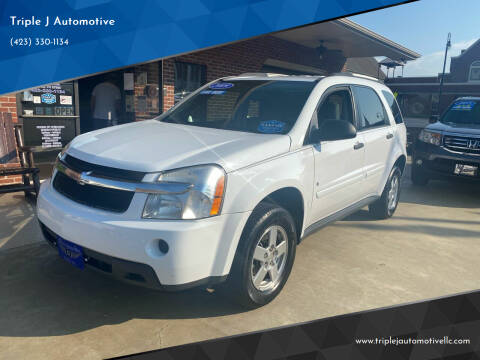 2009 Chevrolet Equinox for sale at Triple J Automotive in Erwin TN