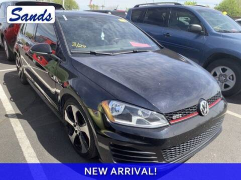 2016 Volkswagen Golf GTI for sale at Sands Chevrolet in Surprise AZ