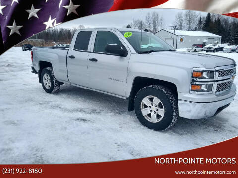 2014 Chevrolet Silverado 1500 for sale at Northpointe Motors in Kalkaska MI