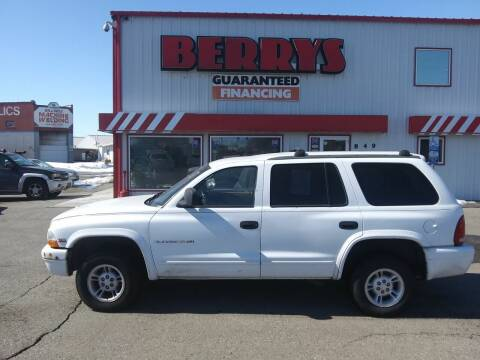 1998 Dodge Durango for sale at Berry's Cherries Auto in Billings MT