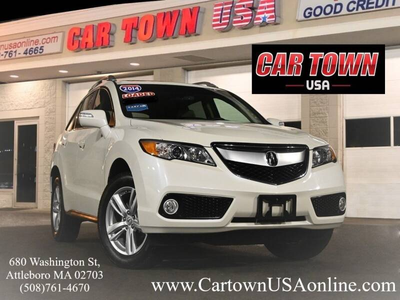 2014 Acura RDX for sale at Car Town USA in Attleboro MA