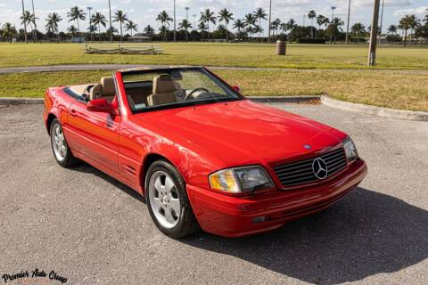 2000 Mercedes-Benz SL-Class for sale at Premier Auto Group of South Florida in Wellington FL