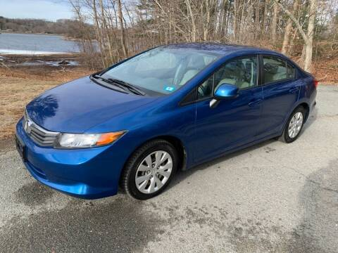 2012 Honda Civic for sale at Elite Pre-Owned Auto in Peabody MA