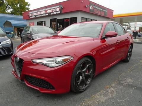 2018 Alfa Romeo Giulia for sale at International Motors in Laurel MD