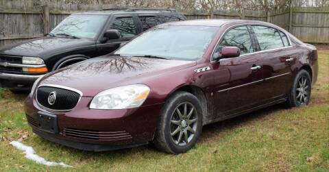 2006 Buick Lucerne for sale at PINNACLE ROAD AUTOMOTIVE LLC in Moraine OH