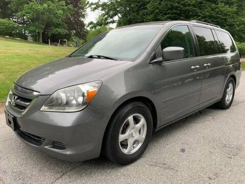 2007 Honda Odyssey for sale at NEW ENGLAND AUTO CENTER in Lowell MA
