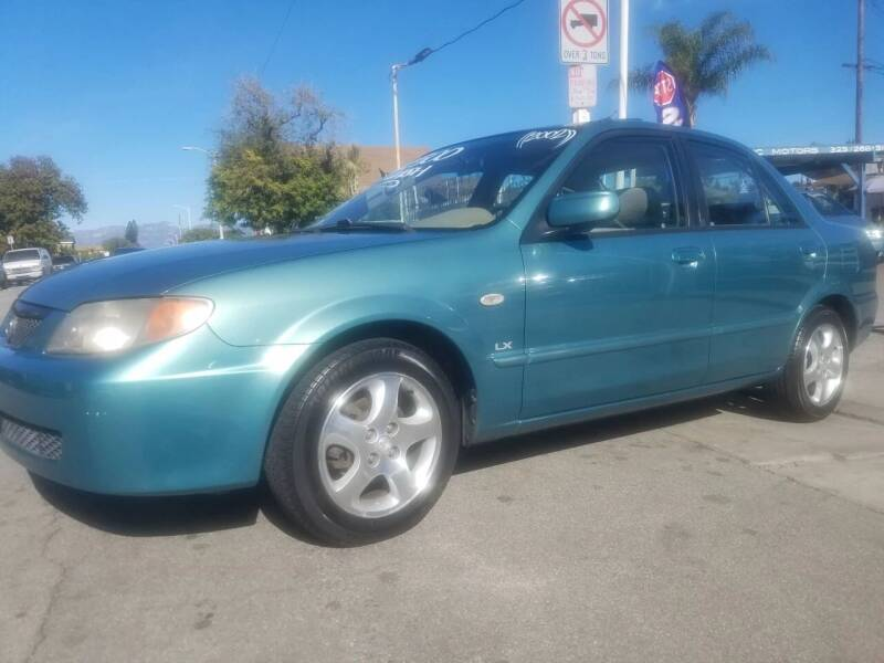 2002 Mazda Protege for sale at Olympic Motors in Los Angeles CA