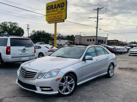 2013 Mercedes-Benz E-Class for sale at Grand Auto Sales in Tampa FL