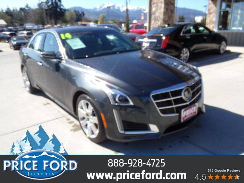 2014 Cadillac CTS for sale at Price Ford Lincoln in Port Angeles WA