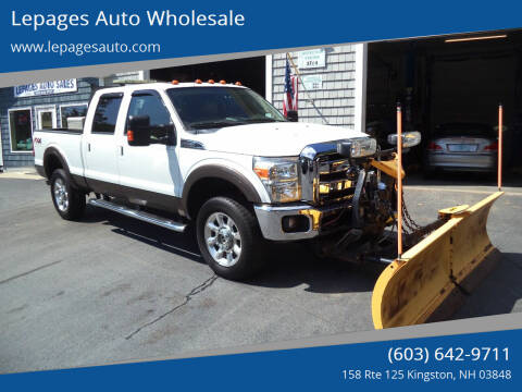 2016 Ford F-350 Super Duty for sale at Lepages Auto Wholesale in Kingston NH
