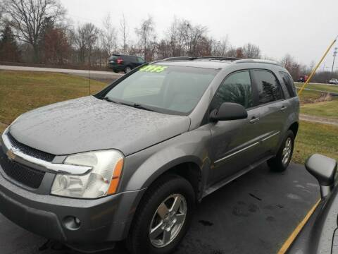 2005 Chevrolet Equinox for sale at Richards Auto Sales & Service LLC in Cortland OH