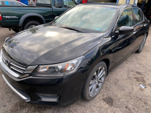 2015 Honda Accord for sale at Polonia Auto Sales and Service in Hyde Park MA