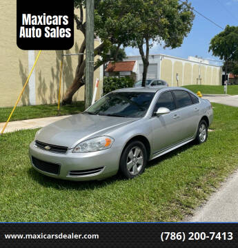 2009 Chevrolet Impala for sale at Maxicars Auto Sales in West Park FL
