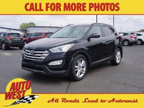 2013 Hyundai Santa Fe Sport for sale at Autowest Allegan in Allegan MI